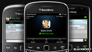 Blackberry now on iPhone, Android