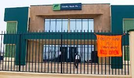 One of Fidelity Bank Branches