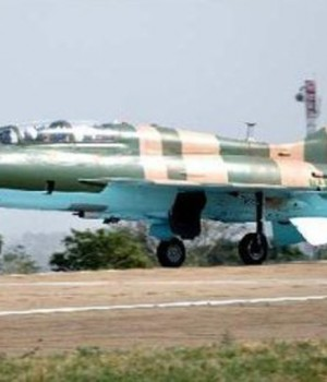 Fighter Jet hitting Boko Haram camps