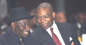 President Jonathan and Aigboje Aig-Imokhuede