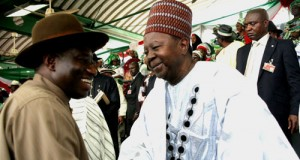 The late Solomon Lar and President Jonathan
