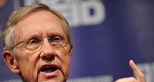 US Senate leader, Harry Reid