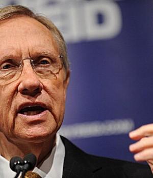 US Senate leader, Harry Reid