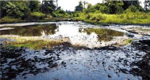 Oil spill in Akwa Ibom