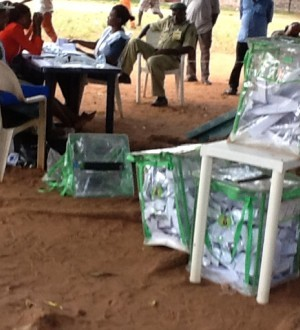 Late arrival of electoral materials