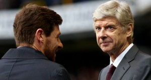Villas Boas and Arsene Wenger