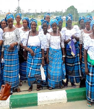 Edo women at the launch of the programme