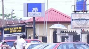 A First Bank branch