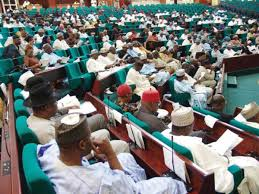 Members, House of Reps in session