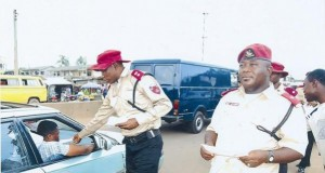 FRSC officials on patrol