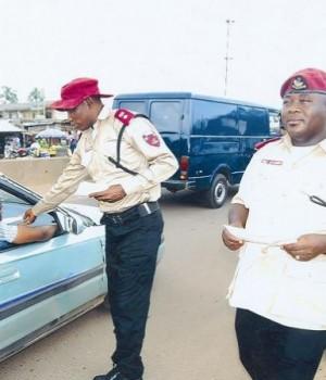 FRSC officials on patrol