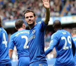 Mata biding Chelsea fans bye