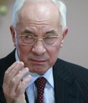 Ukraine PM, Mykola Azarov