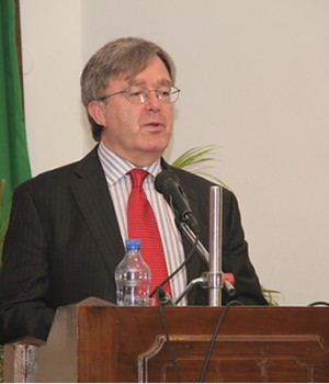 British Deputy High Commissioner in Nigeria, Peter Carter