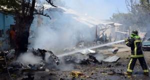Somalia blast scene