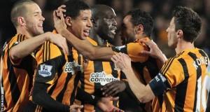 Hull City players