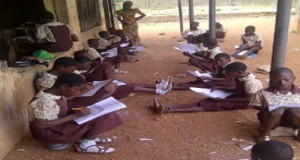 Students of CAC Middle School, Gbonmi area of Osogbo