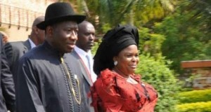 President Goodluck Jonathan and Patience Jonathan