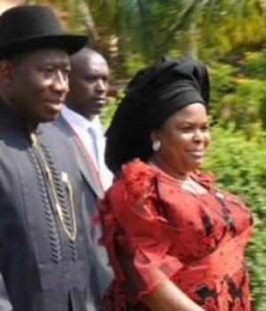 President Goodluck Jonathan and Patience Jonathan