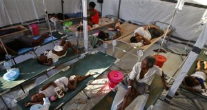 Cholera patients