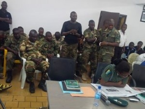 Soldiers on trial