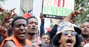 anti-Xenophobic protest