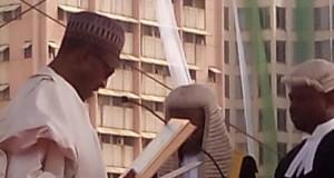 Buhari-taking-oath-of-office