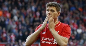 Liverpool Captain, Steven Gerrard