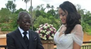 Oshiomhole and Iara Forte