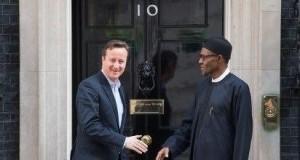 David Cameron and President-elect Muhammad Buhari