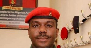 Aide-De-Camp to the President, Lt.-Col. Lawal Abubakar,