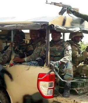 Nigerian Army moving towards Maiduguri