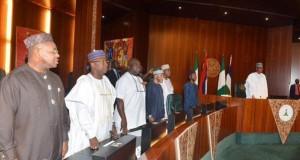 Buhari and Governors meeting