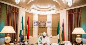 Buhari's first day in office