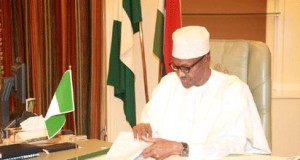 Buhari's first day in Aso Rock