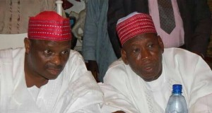 Former Kano Gov. Musa Kwankwaso and current Gov. Ganduje