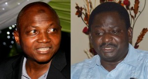 Presidential Spokespersons, Garba Shehu and Femi Adesina