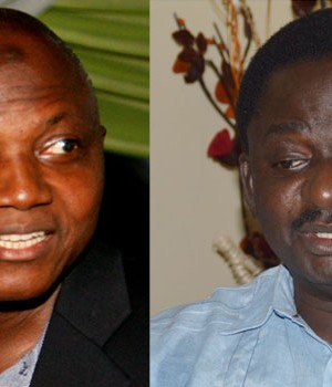 Presidential Spokespersons, Garba Shehu and Femi Adesina