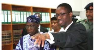 Obasanjo and Ribadu