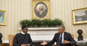 Buhari and Obama in the White House