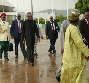 Buhari enroute to US