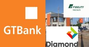 GTBank, Fidelity and Diamond