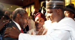 Gbajabiamila and Dogara at the meeting