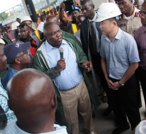 Mile 2-Badagry Road Expansion project