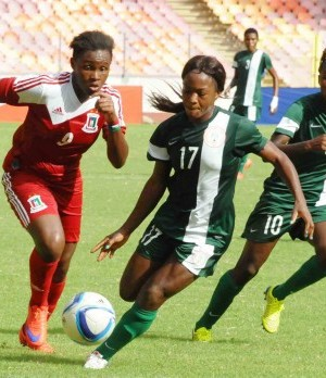 Super Falcons:Equatoria Guinea Olympic Games qualifier match in Abuja