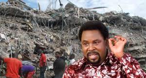 T.B Joshua's collapsed church
