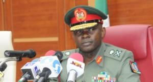 Chief of Defence Staff (CDS), Major General Abayomi Gabriel Olonisakin