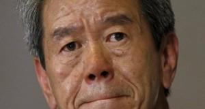 Toshiba's chief executive and president Hisao Tanaka