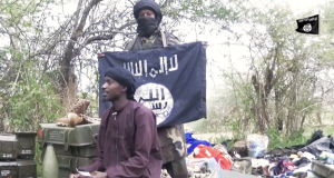 An unidentified Boko Haram leader