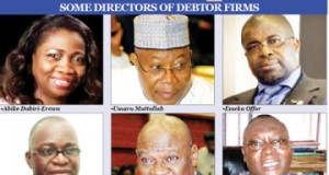 Bank debtors(pix courtesy of Punch)